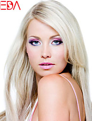 Women Lace Front Wig Brazilian Virgin Hair Color(Blonde) Straight Hair
