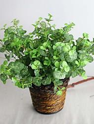 "9,84 ""plante artificielle sept branches de Chaenomeles speciosa 1 bouquet"