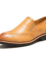 Шерсть теленка - MEN - Удобная обувь/С круглым носком/С закрытым носком - Лоферы