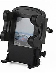 Universal Car Air Outlet Mini Bracket Base for Mobile / GPS - Black