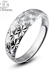 Poetry Dreams Solid Sterling Silver Adjustable Ring Men's Ring