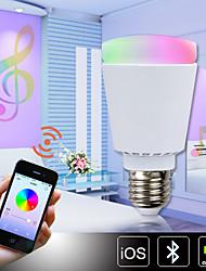 1 Stück H+LUX™ Dimmbar/Ferngesteuert/Sensor/Dekorativ/Bluetooth Kugelbirnen A E26/E27 11 W 900 LM 3000-6000 K 39 SMD 5630 FarbwechselAC