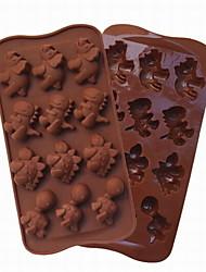 моды DIY эко-силиконовые шоколадный торт инструменты Barware кухня