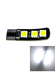 2.5W 12V T10 6SMD 5050 CANBUS LED Car Lamp