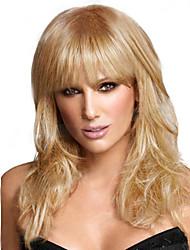 schulterlanges Haar-Perücken weiß european synthetischen schwarzen Frauen Perücken Perücken
