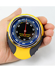 4 in1 Outdoor Sports Multifunctional Altimeter Barometer Compass Thermometer for Camping Hiking