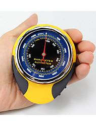 4 in1 sport all'aria aperta altimetro multifunzionale del termometro barometro bussola per il campeggio trekking