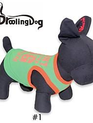 T-shirt voor honden / katten Zwart / Geel / Oranje Lente/Herfst XS / S / M / L Katoen