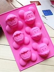 Fashiom Silicone Cake Decorating Chocolate Modelling Mold Ice Soap Shaping Cake Making Tools(Random Color)