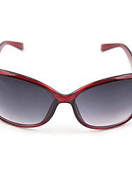100% UV 400 vrouwen oversized gradiëntkleur zonnebril
