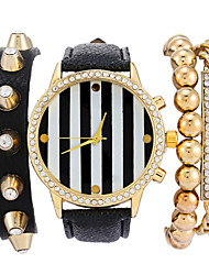 Women's Rivet Bangle Bracelet Watch Luxury Brand Quartz Wristwatch Watches Cool Watches Unique Watches