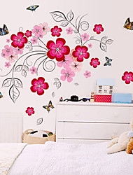 Lovely fashion home decor removable wall stickers