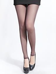 Legging Para Mujer Punto de Encaje Fino - Encaje/Malla