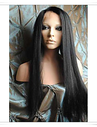 8inch-22inch 100% Indian Remy Human Hair Silky Straight Lace Wigs LWYS004