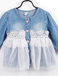Kid's Cute Dresses (Denim/Mesh)