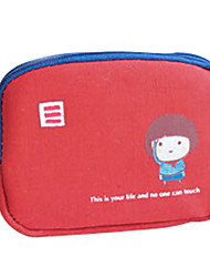 WEST BIKING® Children Wallets Women Wallets Canvas Coin Purse Soft Wearable Key Purse Card Wallet