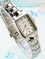 Women's New Explosion Square Dial Steel Watch Fashion Business Quartz Watch Cool Watches Unique Watches