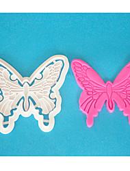 FOUR-C резак бабочки помады, пластиковые резак для украшения торта, резец торта формы, торт инструменты
