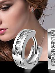 Audrey Women'S Plating Silver Earrings