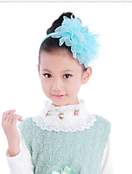 Flower Girl Tulle Headbands With Wedding/Party Headpiece