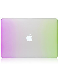 High Quality Rainbow Plastic Full Body  Matte Case for Macbook Air 13.3 inch