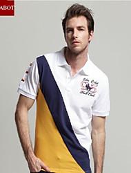John cabot 2015 brand Fashion Polo shirt logo men short sleeve casual dress world famous Man's Polo shirts