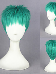 12inch One Piece-Roronoa Zoro Green Anime Cosplay Wigs