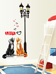 pegatinas de pared Tatuajes de pared, gatos pegatinas de pared de pvc