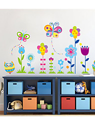 Wall Stickers Wall Decals,Butterfly Green Health PVC Wall Stickers