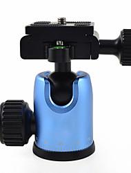 mengs® dh-5 tête de caméra trépied balle monopode avec plateau rapide