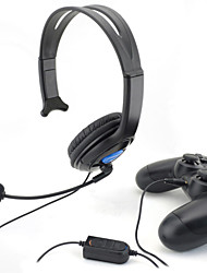 Adjustable Headset with Microphone for PS4 Controller
