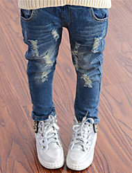 Girl's  Fashion Korean Jeans(Unisex)