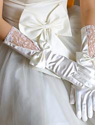 Satin Elbow Length Wedding/Party Glove