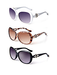 3PCS 100% UV400 Women's Oversized Sunglasses
