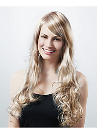 Fashionable Color Light Brown Synthetic Wig Extesions Cosplay Style Wig