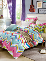 Geometric Quilt Covers 100% Cotton Queen