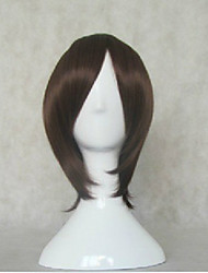 Stylish Cosplay Wig Woman's Cartoon Wigs Brown Short Straight Animated Synthetic Hair Wigs
