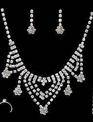 Jewelry Set Women's Anniversary / Wedding / Engagement / Birthday Jewelry Sets Cubic Zirconia / Alloy Cubic Zirconia Necklaces / Earrings
