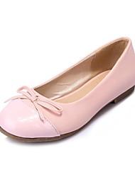 Women's Shoes  Flat Heel Round Toe Flats Casual Blue/Pink/White/Beige