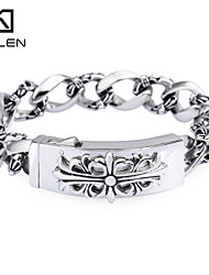 Kalen 2015 Men's Jewelry New Custom Fashion Casting Charm Bracelet
