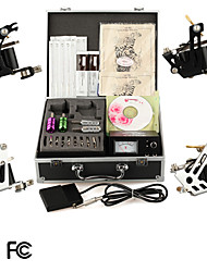 Professional Tattoo Kits With 4 Tattoo Guns