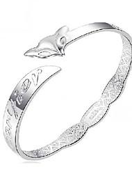 kiki 925 zilveren vos armband