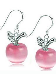Apple KIKI 925 Silver Opal Earrings