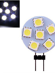 Luces de Doble Pin ding yao G4 3 W 6 SMD 5050 120 LM Blanco Cálido/Blanco Fresco DC 12 V 1 pieza
