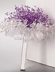Wedding Bouquet South Korean Popular Violet Wedding Bride Bridesmaid Holding Flowers Noble and Elegant
