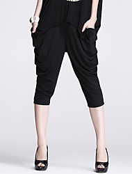 Women's Black Harem Pants , Casual