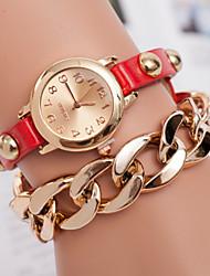 la montre bracelet décontracté bande de quartz analogique des femmes z.xuan (couleurs assorties)