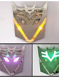 Transformers Solar LED Strobe car stickers Decorative stickers Vehicle distance warning lights Automotive safety lamp
