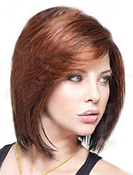 European and American  Fashion  Dark Brown Wig BOBO Head