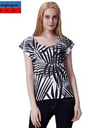 t-shirt imprimé mode pull moulante t-shirt à manches courtes tout match cmfc®women top porter